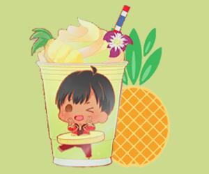drink and yuri!!! on ice image
