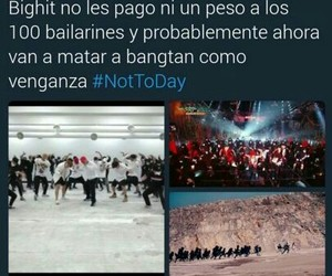memes, bts, and nottoday image