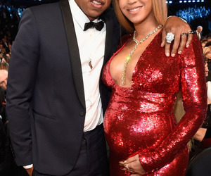 beyoncé, grammys, and jay image