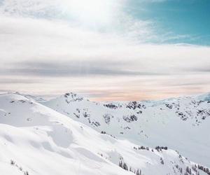 snow and sun image