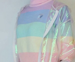 pastel, rainbow, and aesthetic image