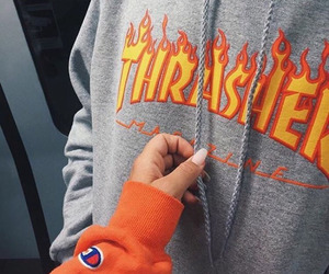 fashion, thrasher, and style image