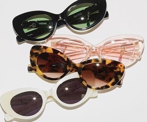 sunglasses, fashion, and style image