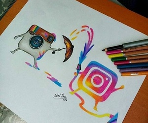 instagram, art, and drawing image
