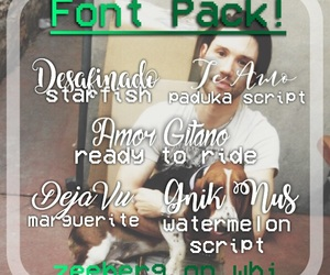 font, fonts, and ryan ross image