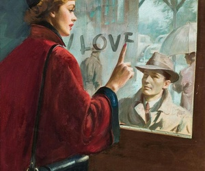 love, art, and vintage image