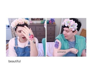 pastel, amazingphil, and dan and phil image