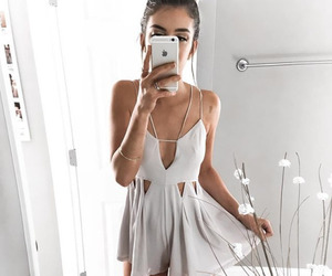 dress, luxe, and fashion image