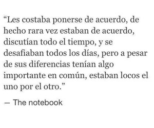 amor, peleas, and notebook image