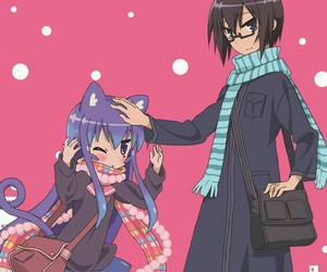 anime, fan art, and anime couple image