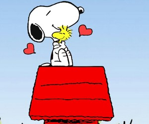 snoppy, peace+, and happiness+ image
