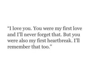 love, heartbreak, and quotes image