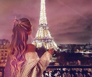 paris, hair, and travel image