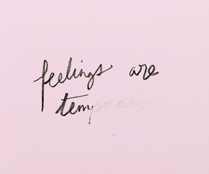 feelings, words, and pink image