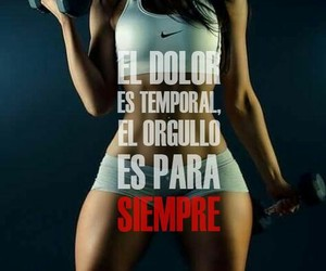 gym, fitness, and spanish image