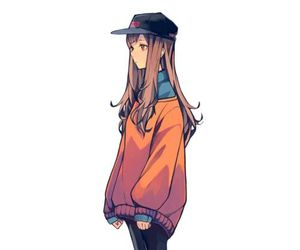 girl, anime girl, and anime image