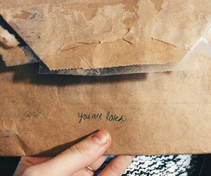 love, Letter, and aesthetic image