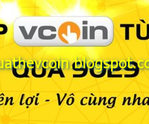 mua thẻ vcoin bằng sms image