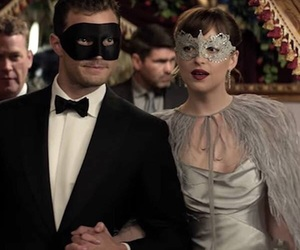 dakota johnson, fifty shades darker, and Jamie Dornan image