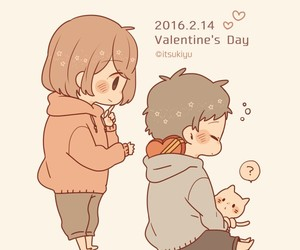 couple, valentin, and cute image