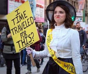 activism, activist, and time travel image