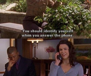 funny, gilmore girls, and phone image