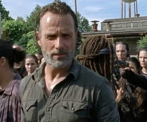 twd and rick grimes image
