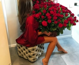 flowers, love, and gift image