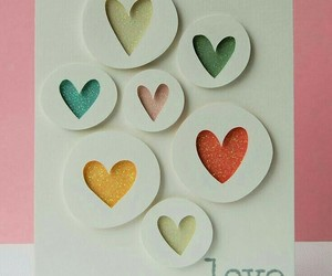 love, diy, and hearts image