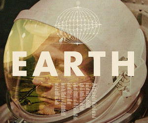 earth, astronaut, and space image