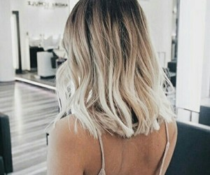 blonde, tumblr, and ombre image