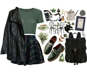 indie, outfit, and fashion image