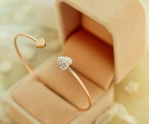 bracelet, accessories, and heart image