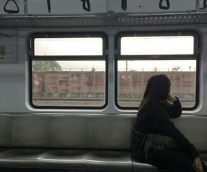 train, grunge, and aesthetic image
