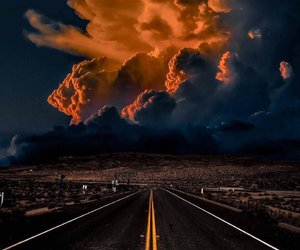 sky, road, and photography image