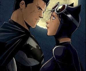 batman, catwoman, and bruce wayne image