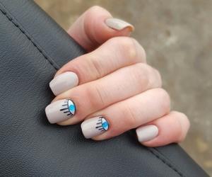 eyes, nails, and nailsart image