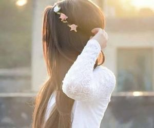 dp, girl, and hairstyle image