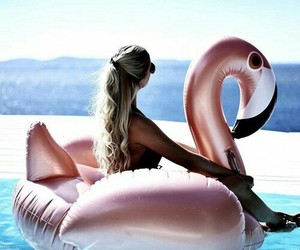 beach, girly, and colors image