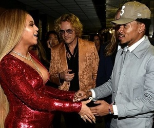 chance the rapper, beyoncé, and grammys image