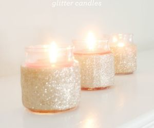 candle and glitter image