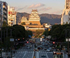 japan, Giappone, and himeji castle image