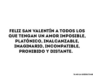 amor, Inalcanzable, and valentinesday image