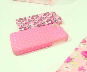 pink, beautiful, and case image