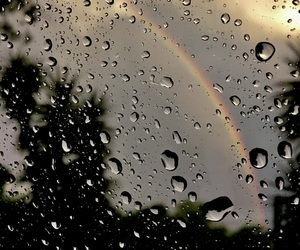 colors, rain, and water image