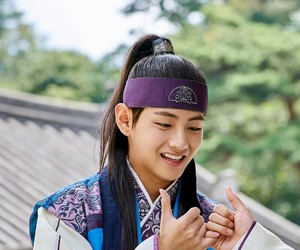 v, bts, and hwarang image