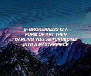 heartbreak, quote, and text image