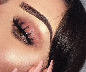 makeup and goals eyes image