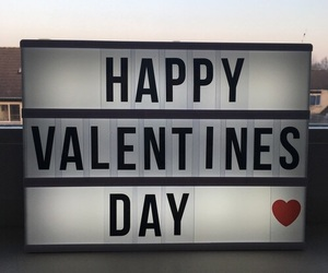 happy and valentine image