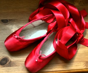 red and ballet image